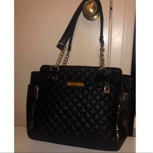 Black Betsey Johnson Tote purse